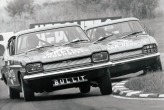 Group One Ford V6 Capri, I won the first ever group one race for Ford