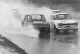 Mk 1 Escort, Crystal Palace, that\'s what you call rain!