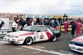 Mitsubishi Starion on pole