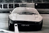 1972 \'Maserati Bora\' test day. The most dangerous car I ever drove