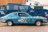 Ford V6 Capri, Group one won the Championship 1971, what a year!