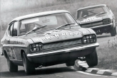 \'Group One V6 Ford Capri\' How to do the old russell corner flat at Snetterton