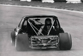V6 Special Saloon Capri on a demo run 1975