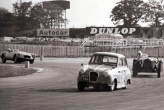 Winning my first ever race, Silverstone June 1963