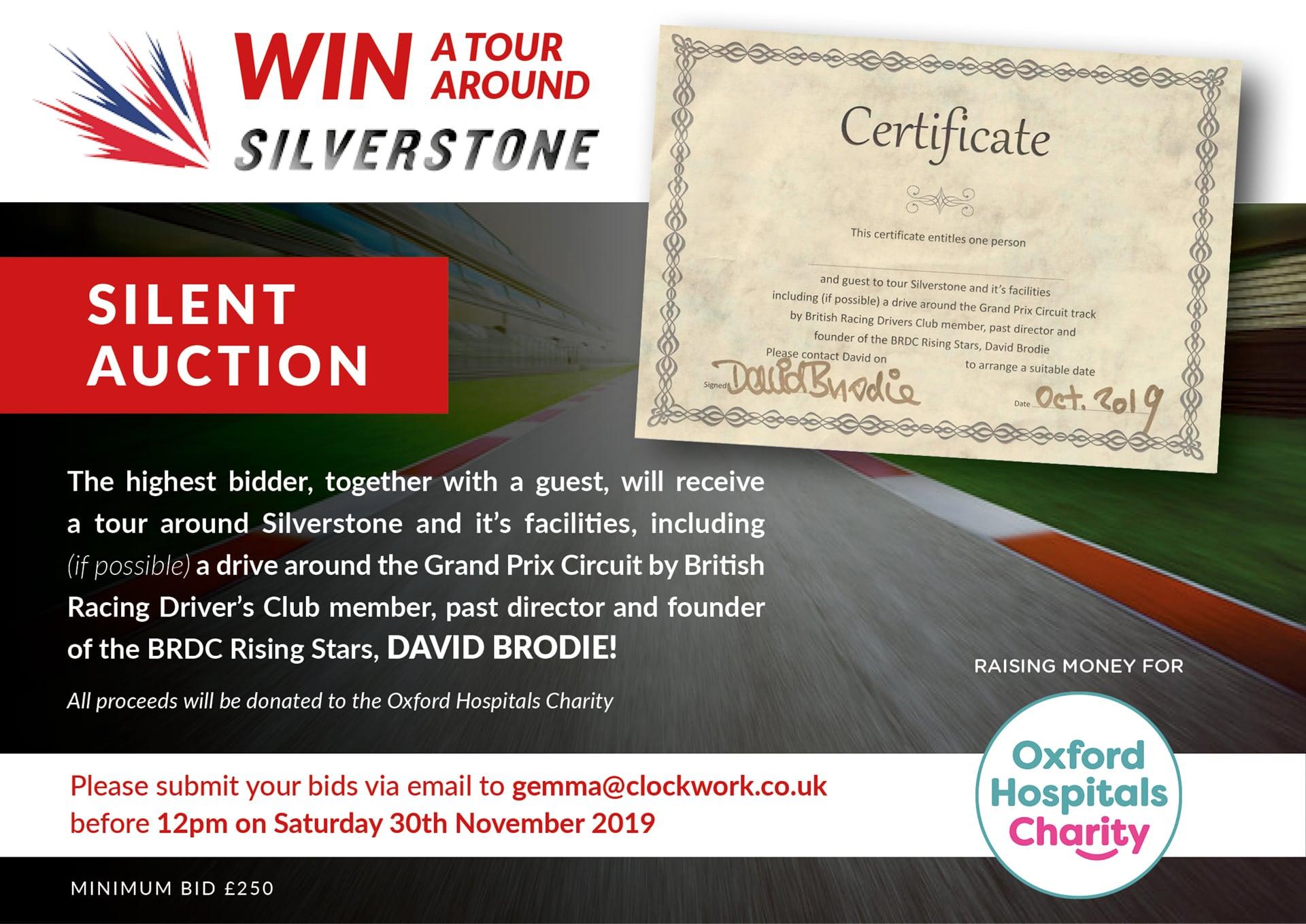 David Brodie Silverstone tour